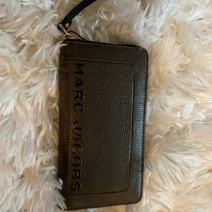 BROWN MARC JACOBS WALLET